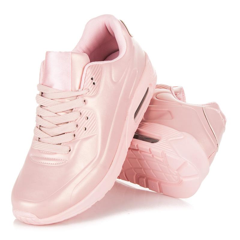 9102def7f1822 Dámske ružové štýlové športové tenisky - Dámske prádlo a doplnky