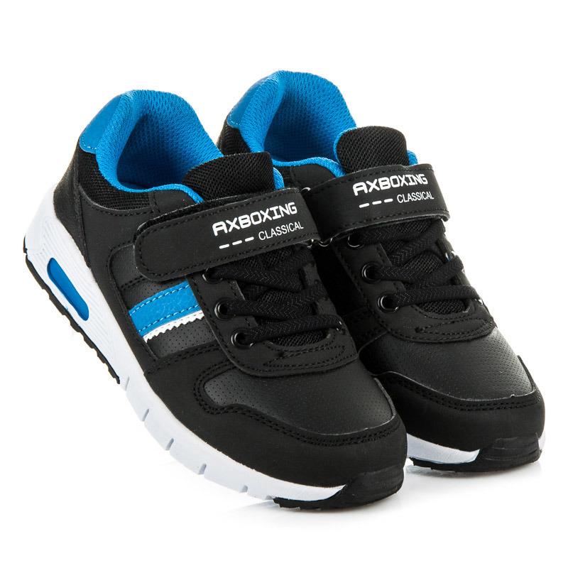 43569598604a AX BOXING Detská športová obuv CP7155B-BL - Dámske prádlo a doplnky