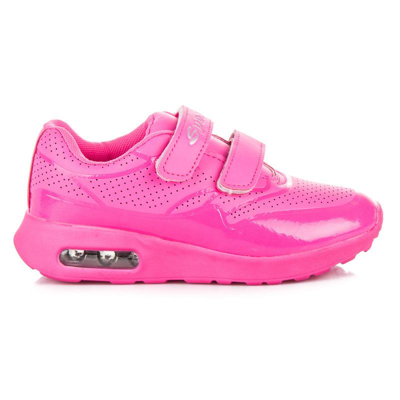 e690b6c0fc Detské červené športové botasky na suchý zips - Dámske prádlo a doplnky