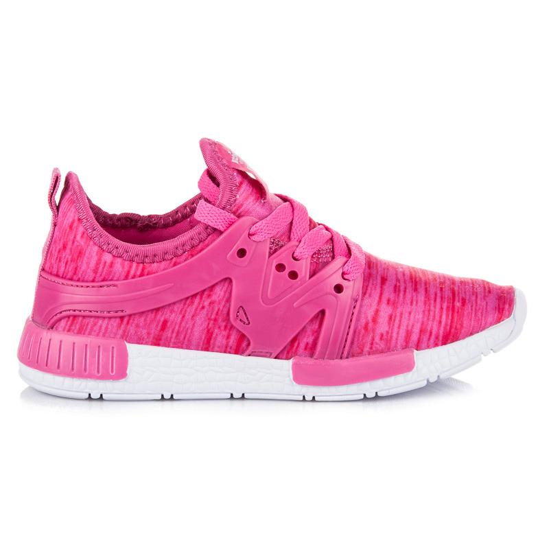 4819a22a0738 Detské ružové tenisky na šnurovanie - Dámske prádlo a doplnky