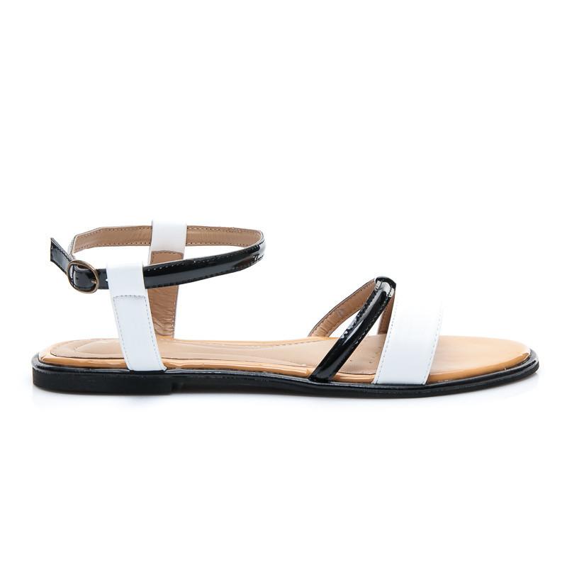 298798f2ccd5b Dokonalé dámske biele sandále - Dámske prádlo a doplnky