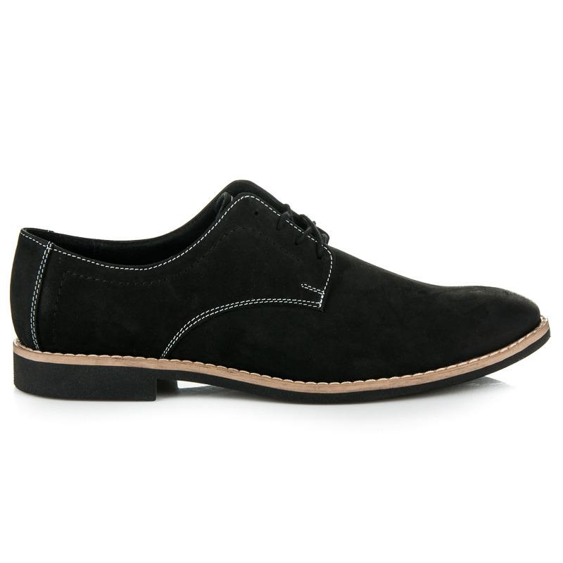 6250c871d4 Elegantné čierne pánske kožené poltopánky - Dámske prádlo a doplnky