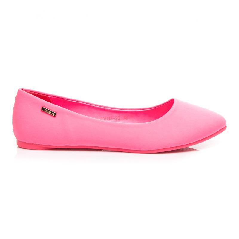 8ea1175c1 Elegantné ružové balerínky - Dámske prádlo a doplnky