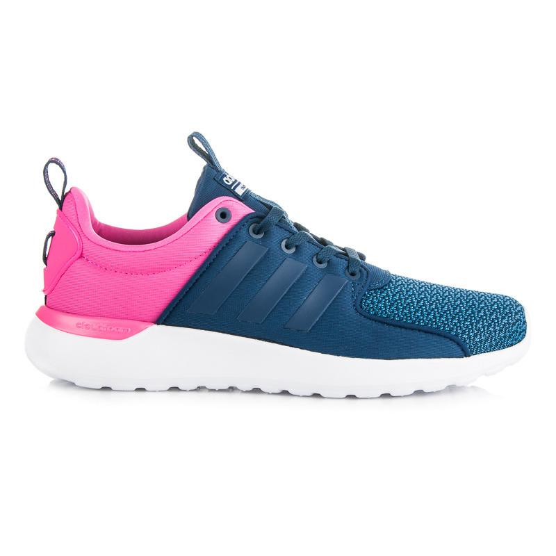 6ebe66d69b6f7 Jednoduché modro-ružové dámske športové tenisky Adidas - Dámske ...