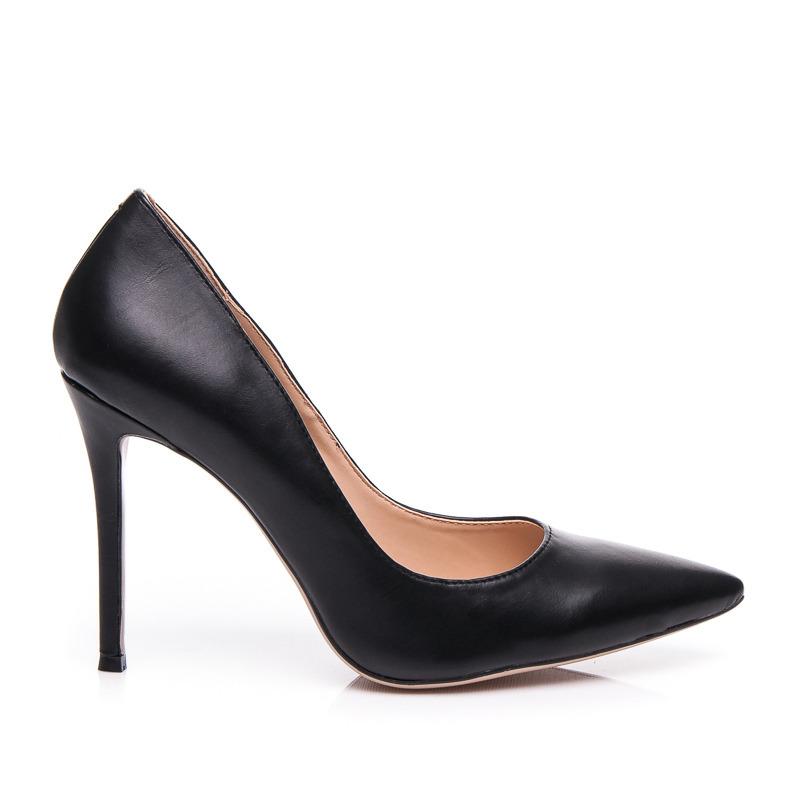 Módne dámske lodičky - čierne luxusné - Dámske prádlo a doplnky 532e74e02d7