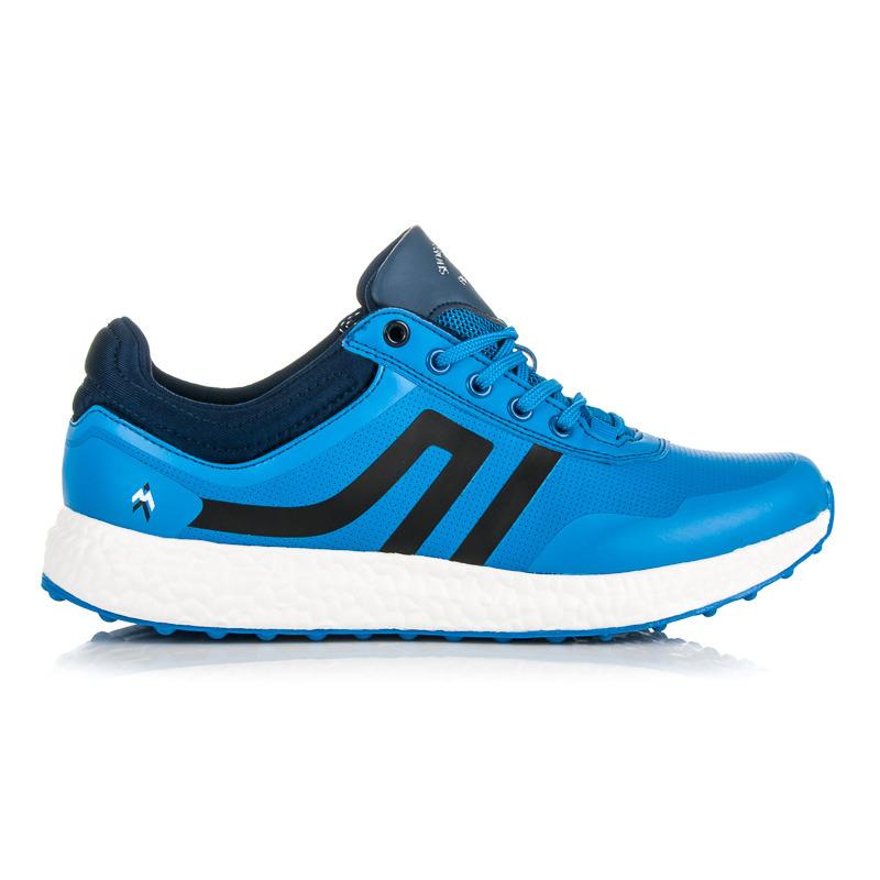 d2de20ebaba3 Módne modré pánske športové tenisky - Dámske prádlo a doplnky