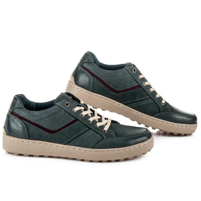 2714c27d82a1 Módne modré pánske športové topánky na pohodlné podrážke - Dámske ...