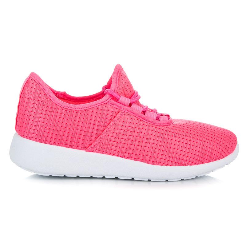 da0c87e74 Nádherné ružové tenisky na šnurovanie - Dámske prádlo a doplnky
