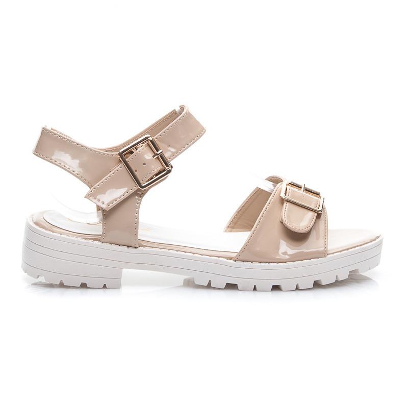 39090a446744 Perfektné béžové dámske sandále - Dámske prádlo a doplnky