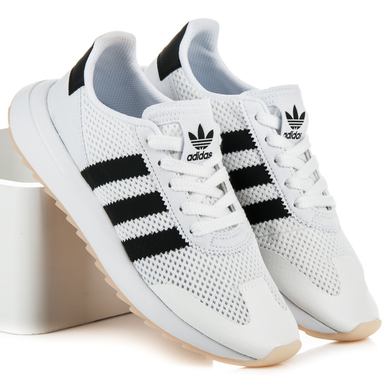 Pohodlné biele tenisky Adidas - Dámske prádlo a doplnky d60f2550cba
