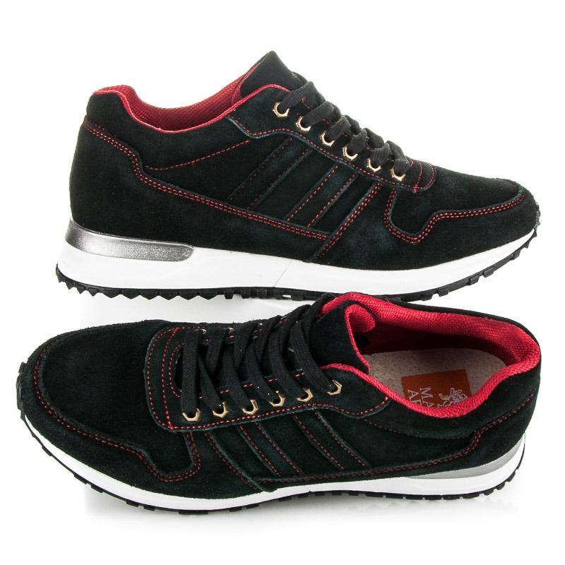 8f697be1e32f Pohodlné čierne pánske športové topánky - Dámske prádlo a doplnky