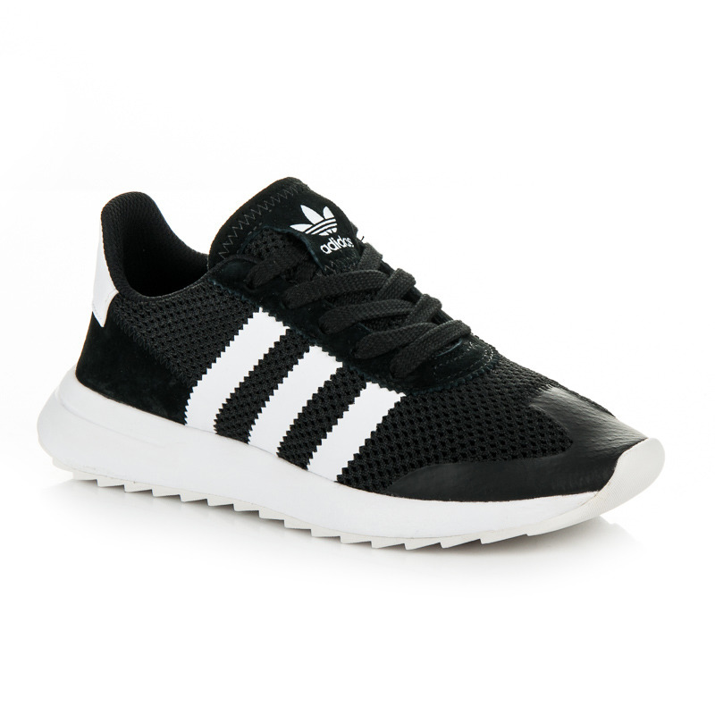 Pohodlné čierne tenisky Adidas - Dámske prádlo a doplnky 0e9d7125016