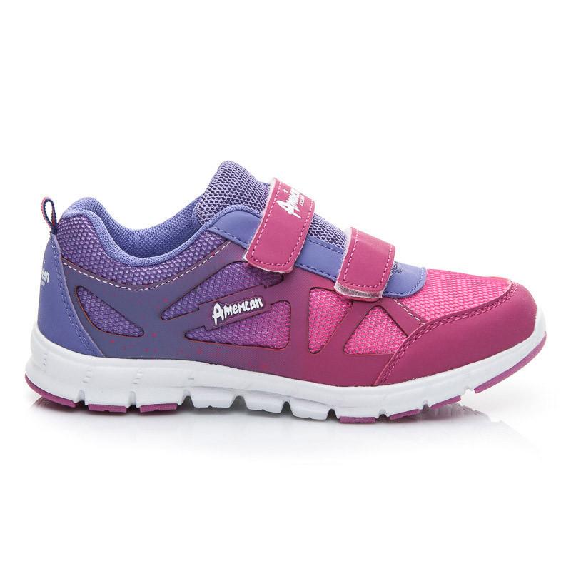 Pohodlné fialové detské športové topánky - Dámske prádlo a doplnky 02f72a133ca