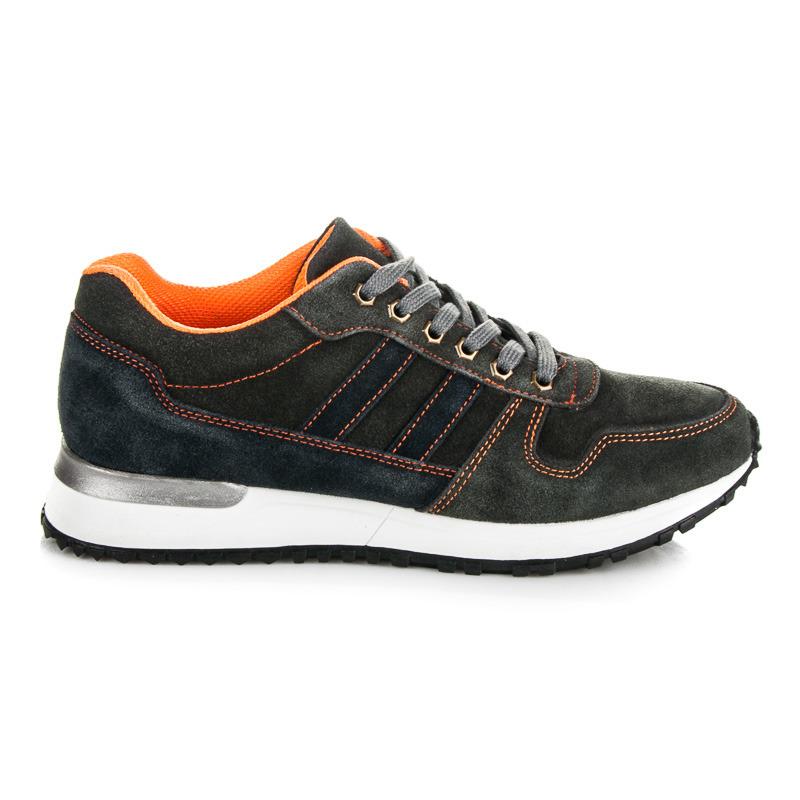 05bc507aefad Pohodlné šedé pánske športové topánky - Dámske prádlo a doplnky