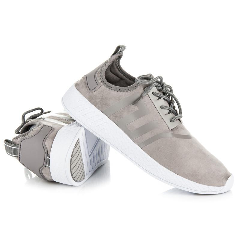 b551a2916d24 Štýlové šedé dámske športové tenisky - Dámske prádlo a doplnky